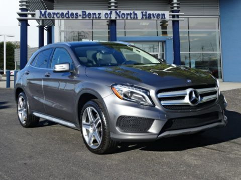 Certified Pre-Owned 2015 Mercedes-Benz GLA 250 4MATIC® Sport Utility