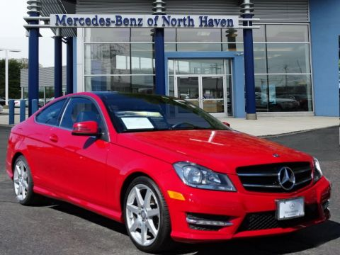 Certified Pre-Owned 2014 Mercedes-Benz C 350 4MATIC® 2dr Car