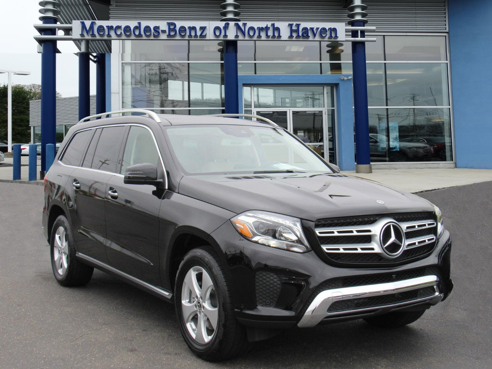 Pre Owned 2018 Mercedes Benz GLS GLS 450 SUV in North Haven M