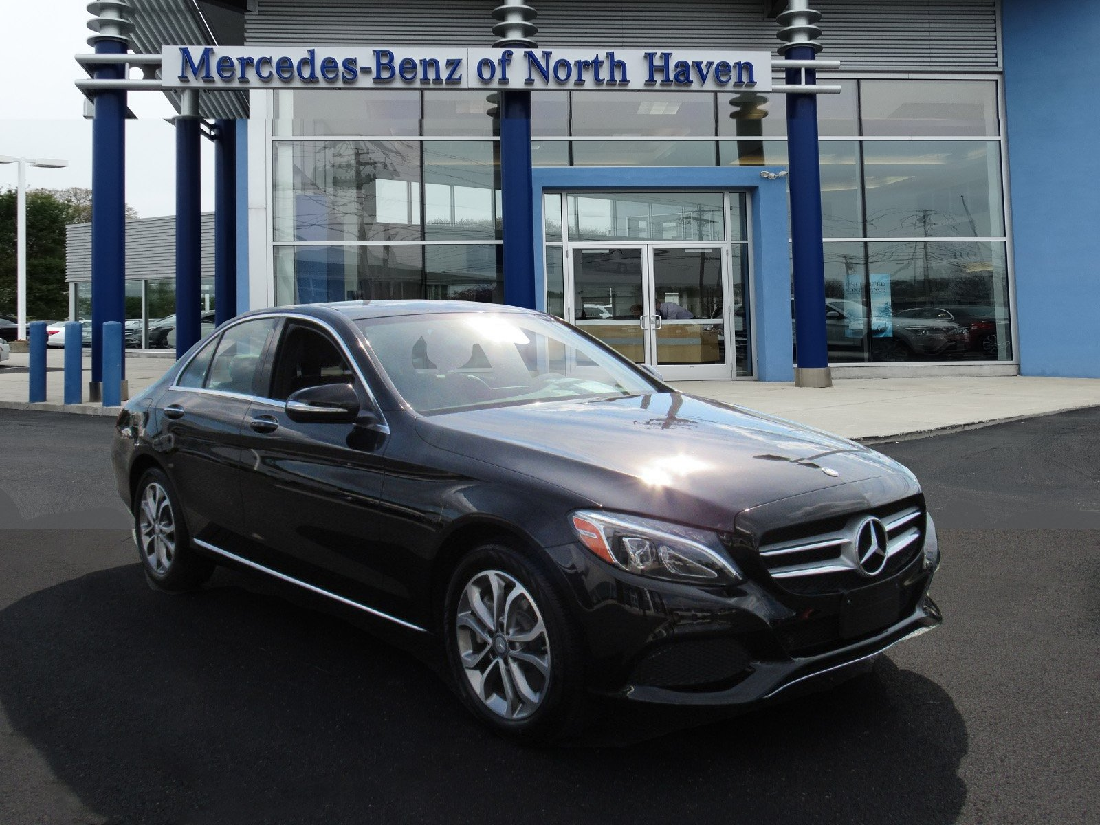 Certified Pre Owned 2015 Mercedes Benz C Class C 300 SEDAN in North