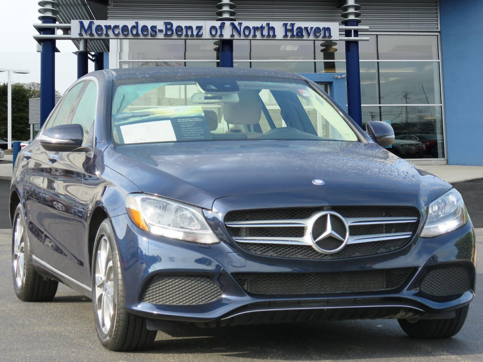 Certified Pre Owned 2016 Mercedes Benz C Class C 300 SEDAN in North