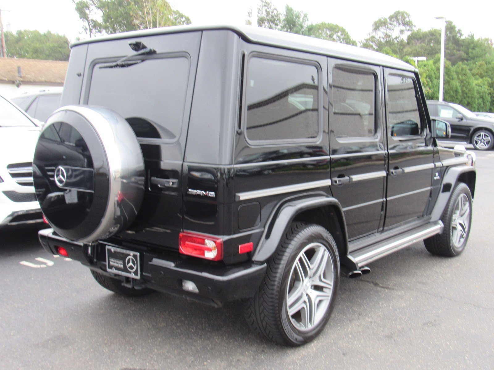 Certified Pre Owned 2015 Mercedes Benz G Class G 63 AMG SUV in