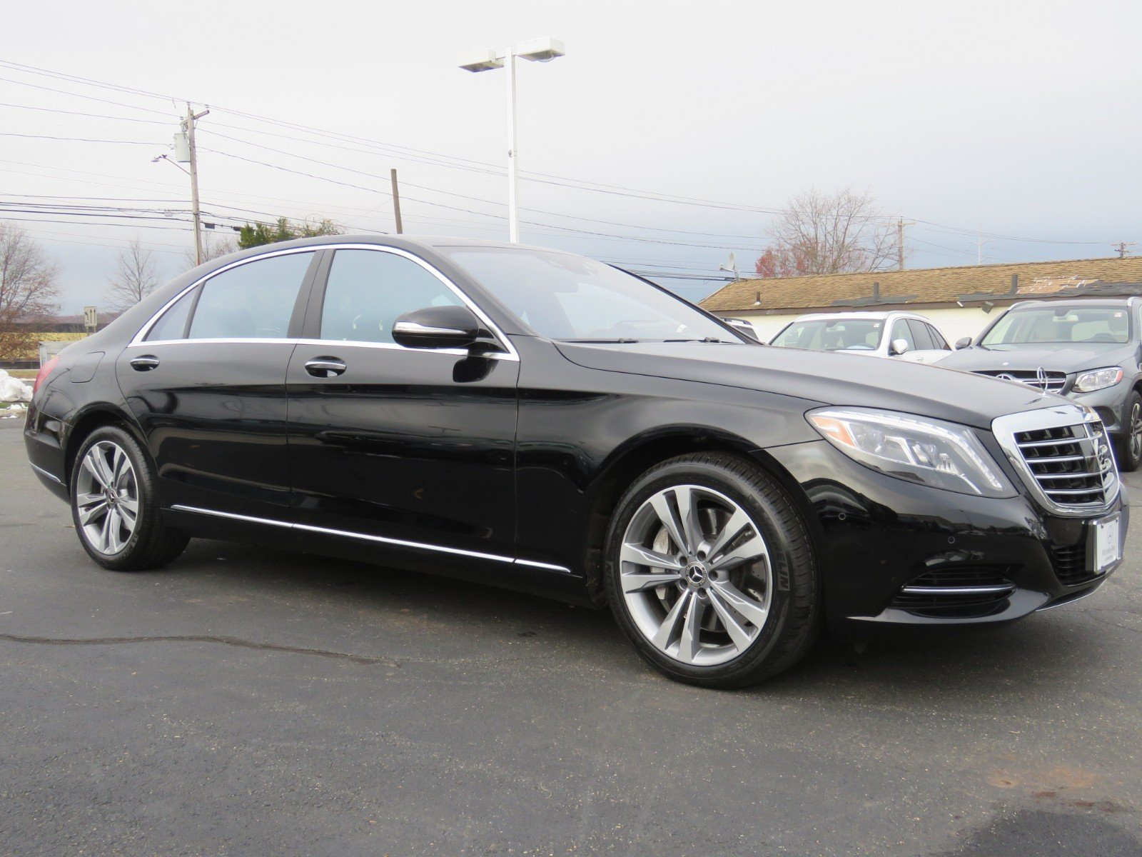 Pre Owned 2017 Mercedes Benz S Class S 550 SEDAN in North Haven
